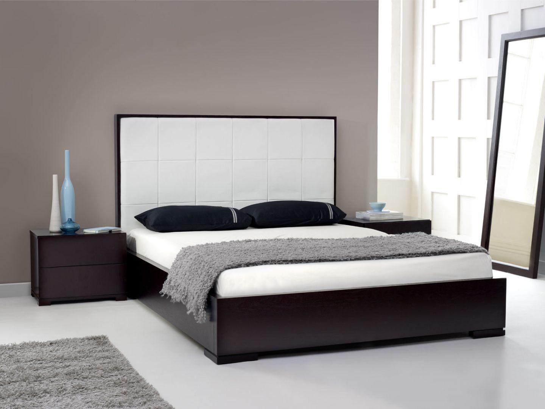 Cama de estilo minimalista im genes y fotos - Dibujos para cabeceros de cama ...