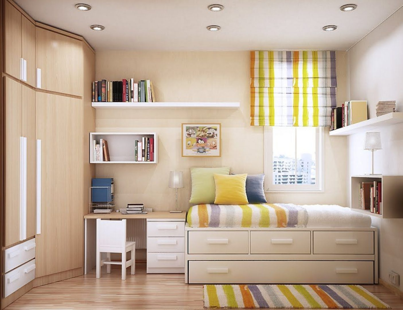 Decoraci n de una habitaci n juvenil im genes y fotos - Decoracion de una habitacion ...