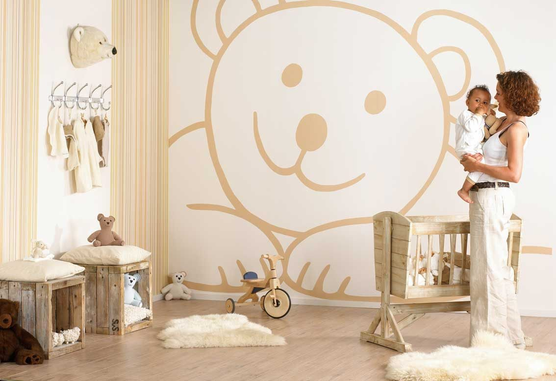 Galer a de im genes dormitorios de beb s - Dibujos para habitaciones de bebes ...