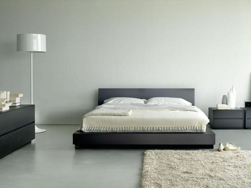 Dormitorio de matrimonio minimalista Imgenes y fotos
