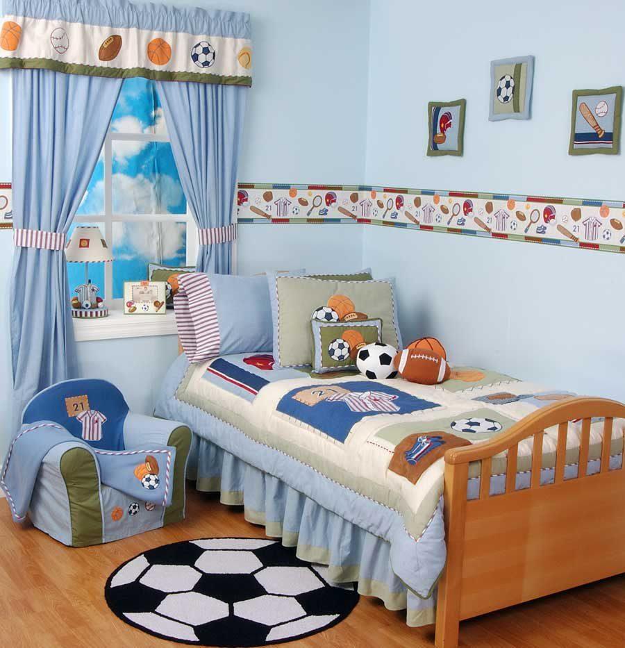 Dormitorio infantil de f tbol im genes y fotos - Dormitorio infantil nina ...