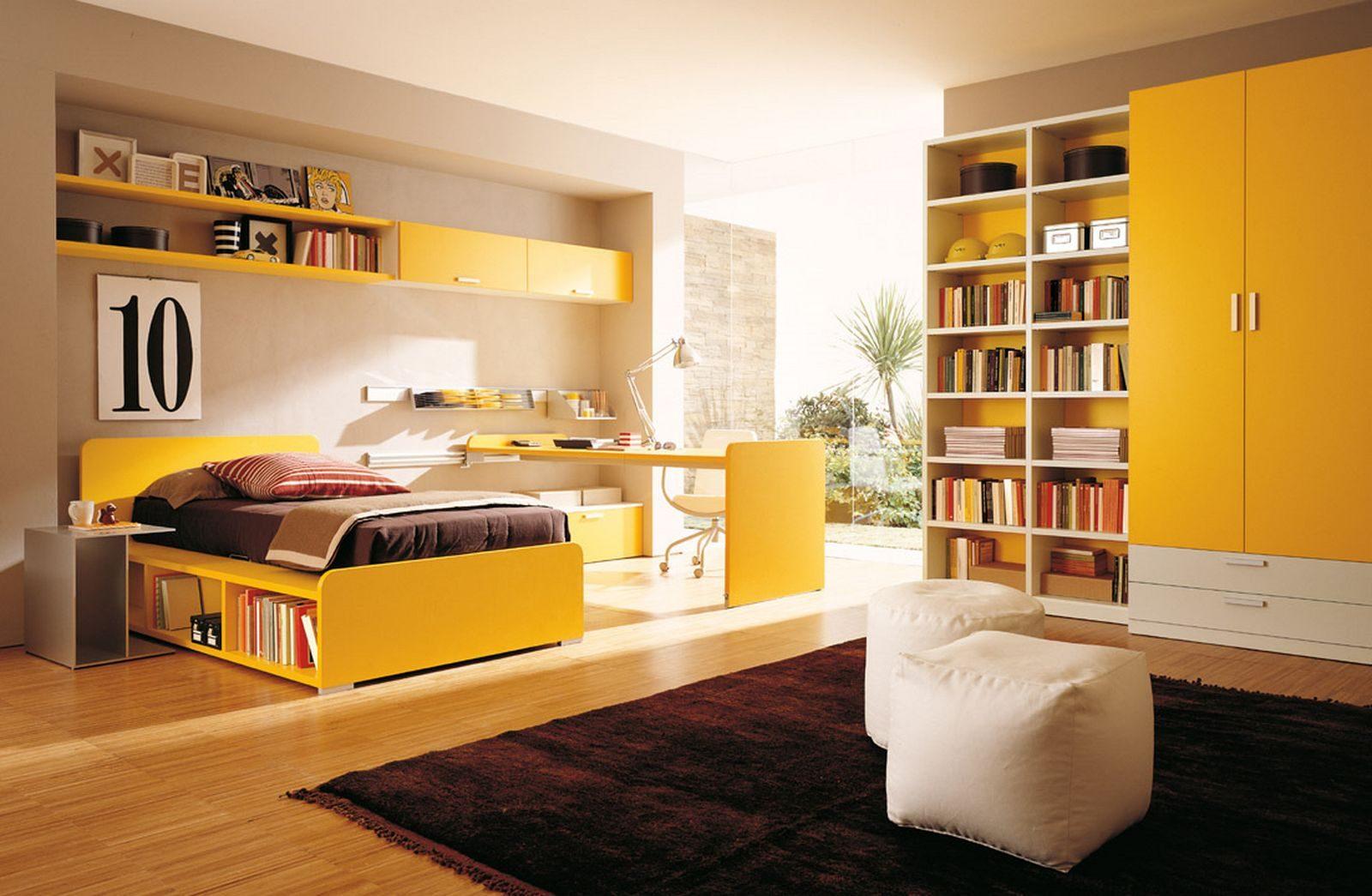 Dormitorio Juvenil En Tonos Amarillos Im Genes Y Fotos