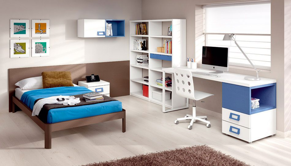 Dormitorio juvenil moderno im genes y fotos - Decoracion para habitacion juvenil ...
