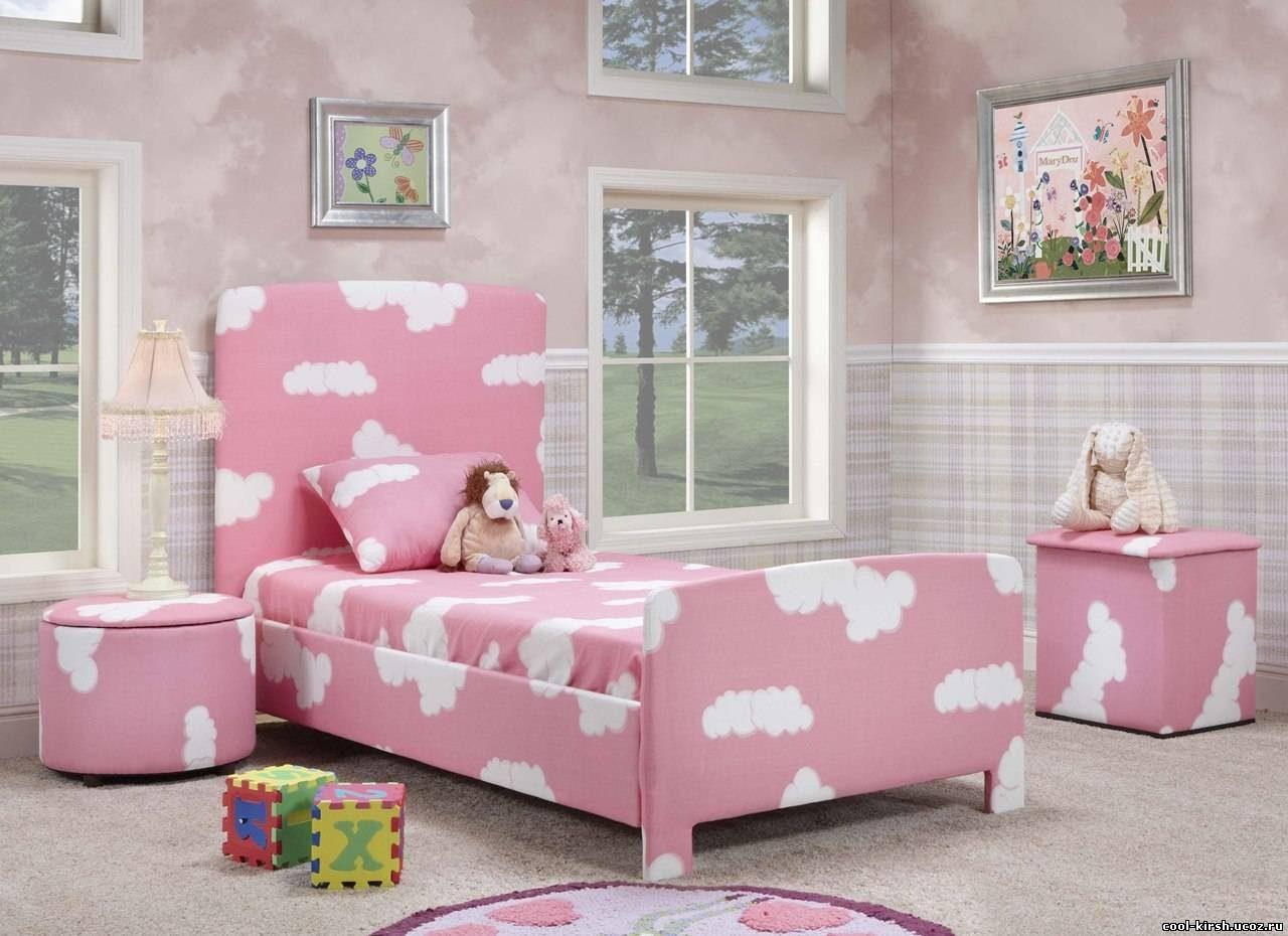 Habitaci n para ni as en tonos rosas im genes y fotos for Dormitorios para ninas