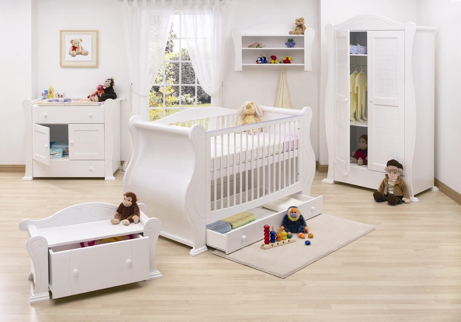Galer a de im genes dormitorios de beb s - Mobiliario habitacion bebe ...