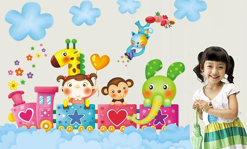 Papel pintado infantil im genes y fotos - Papel decorativo infantil ...