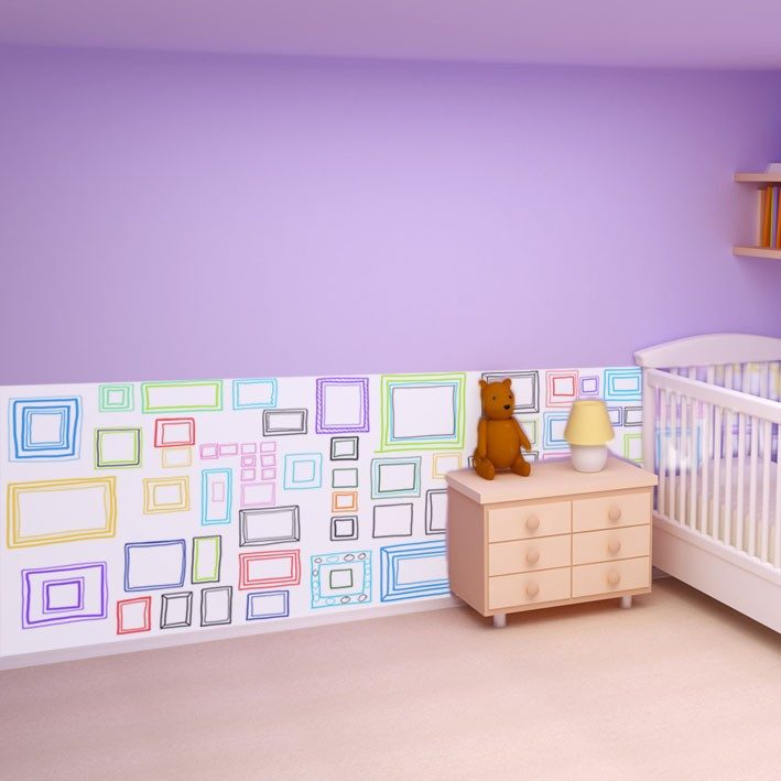 Papel pintado para dormitorios infantiles im genes y fotos for Papel para pared dormitorio