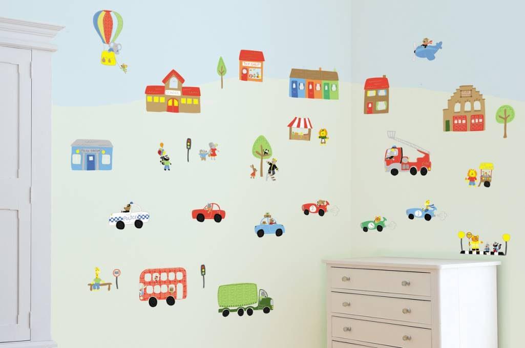 Papeles pintados infantiles - Papeles infantiles para paredes ...