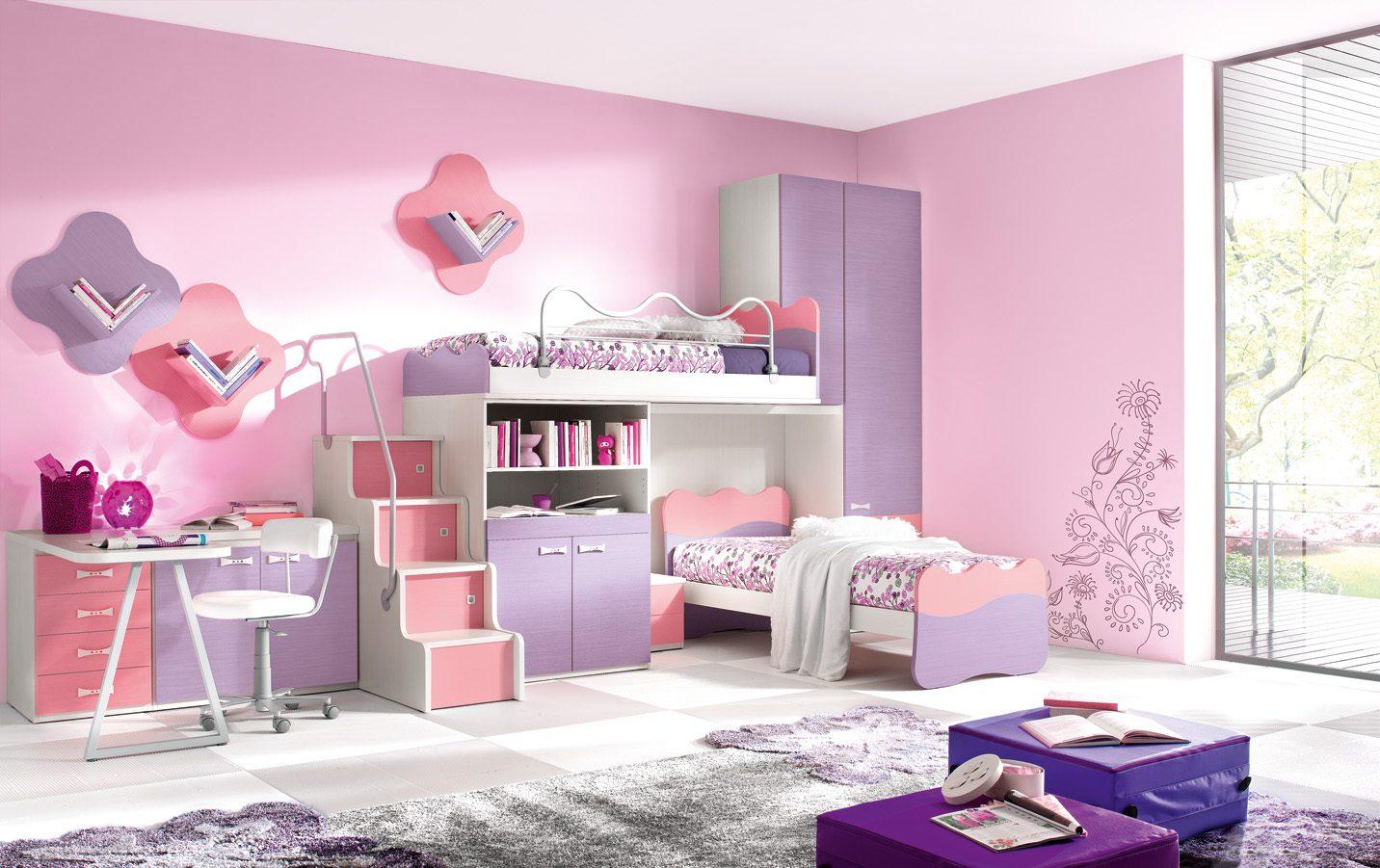 dormitorios de nias - Habitaciones Nias